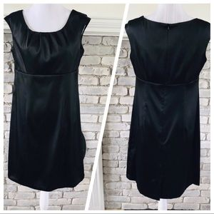 Dressbarn Collection Sheath Dress Solid Black 12
